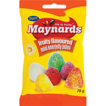 Picture of Maynards Jelly Jubes Sweets Box 24 x 75g