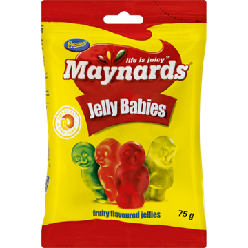 Picture of Maynards Jelly Babies Sweets Box 24 x 75g