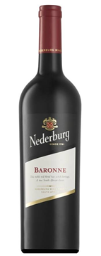 Picture of Nederburg Baronne Dry Red Wine Bottle 750ml