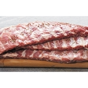 Picture of Caterclassic Frozen Raw Pork Belly Ribs Box 20kg