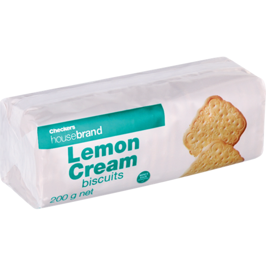 Picture of Checkers Housebrand Lemon Creams Biscuits 200g