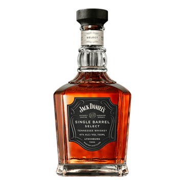 Picture of Jack Daniel's Single Barrel Whisky Bottle 750ml