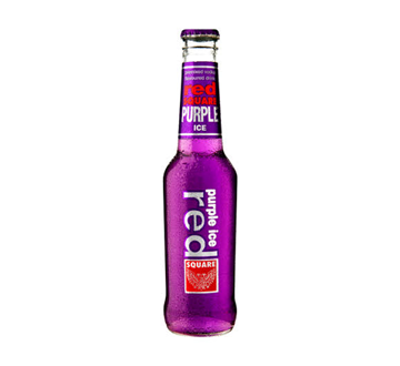 Picture of Red Square Ice Purple Bottle 24 x 275ml