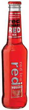 Picture of Red Square Ice Red Bottle 24 x 275ml