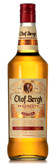 Picture of Olof Bergh Brandy Bottle 750ml