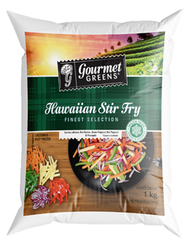 Picture of Gourmet Greens Frozen Hawaiian Stirfry Veg 1kg