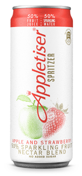 Picture of Appletiser Spritzer Apple & Strawbery Can 24x330ML