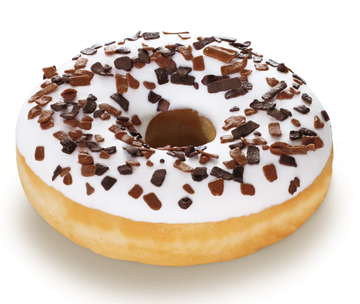 Picture of Frozen Doughnut Vanilla Fully Finished Rich 36x58g
