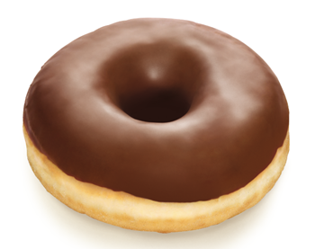 Picture of Frozen Doughnut Choc Iced Fully FinishRich36x55g