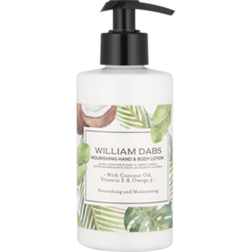 Picture of William Dabs Hand & Body Lotion 300ml