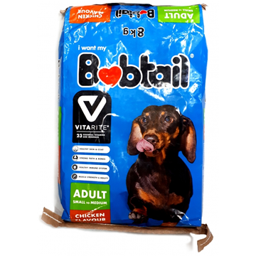 Picture of Bobtail Chicken Flavoured Dog Food 8kg