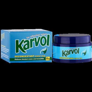 Picture of Karvol Decongestant Chest Rub 50g