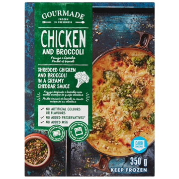 Picture of Gourmade Frozen Chicken Broccoli Ready Meal 350g