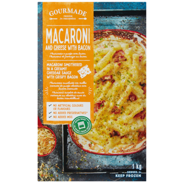 Picture of Gourmade Frozen Macaroni & Cheese Ready Meal 1kg