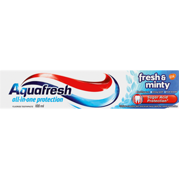 Picture of Aquafresh Fresh & Minty Toothpaste  100ml