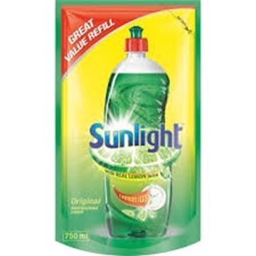 Picture of Sunlight Regular Dishwash Liquid Refill Pack 750ml