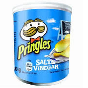 Picture of Pringles Salt & Vinegar 42g Box