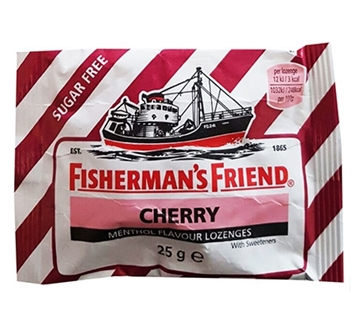 Picture of Fishermans Friend Menthol Cherry 25g