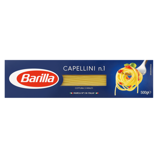 Picture of Barilla Capellini Pasta Pack 500g