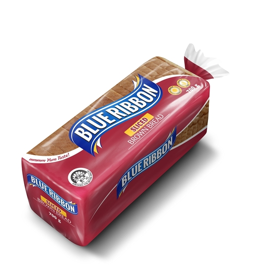 Picture of Blue Ribbon Sliced Brown Bread 700g