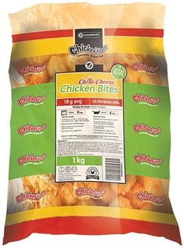 Picture of Chickentizers ChilliCheese Frozen Chicken Bites6kg