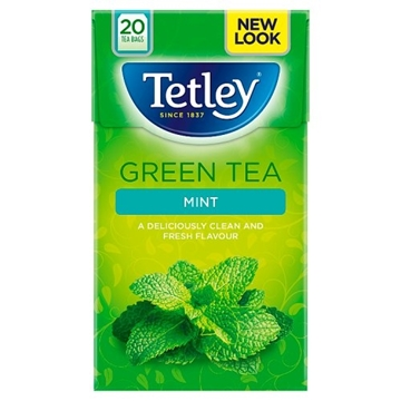 Picture of Tetley Green Tea & Mint Teabags 20s