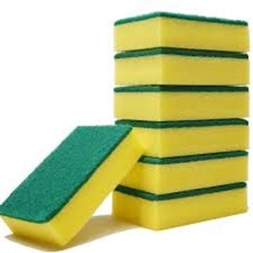 Picture of Easyclean Sponge Scourers Pack 3s