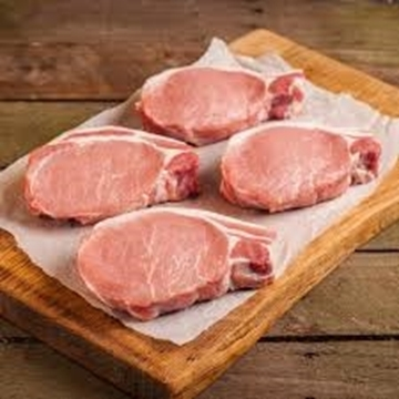 Picture of Frozen Pork Steaks 1kg Pack