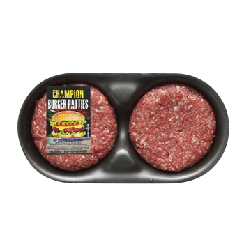 Picture of Frozen Championship Beef Burger Patties 4x120g