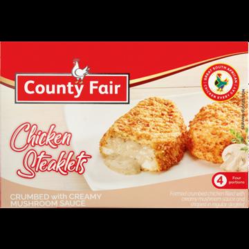 Picture of County Fair Frozen Chicken Steaklet Mushroom 400g