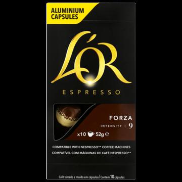 Picture of Lo'r Espresso Forza Coffee Capsules 10 Pack