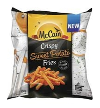 Picture of McCain Frozen Crispy Sweet Potato Fries 750g