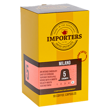Picture of Importers Milano Coffee Capsule 10 x 5g