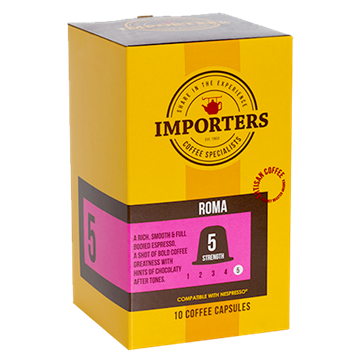 Picture of Importers Roma Coffee Capsule 10 x 5g