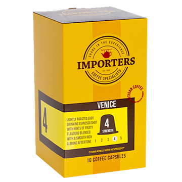 Picture of Importers Venice Coffee Capsule 10 x 5g