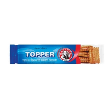 Picture of Bakers Topper Vanilla Biscuits 125g