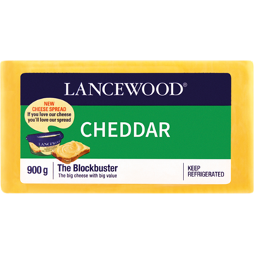 Picture of Lancewood Cheddar Cheese Pack 900g