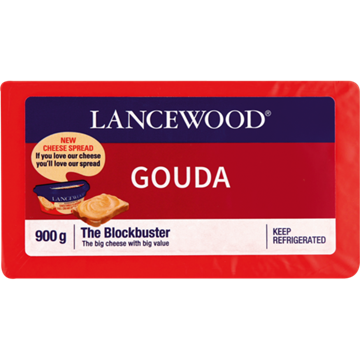 Picture of Lancewood Gouda Cheese Pack 900g