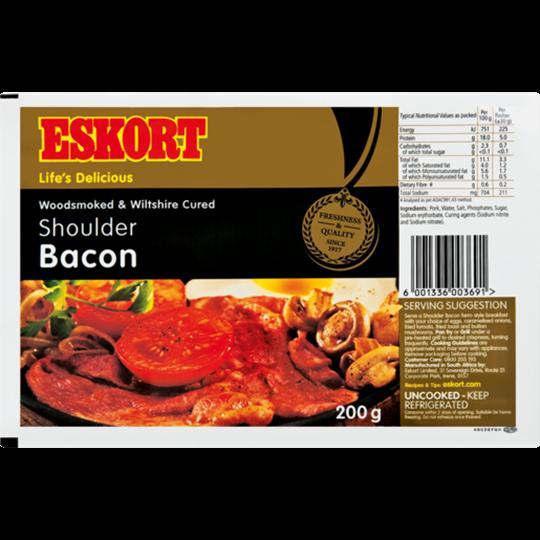 Picture of Eskort Shoulder Bacon 200g