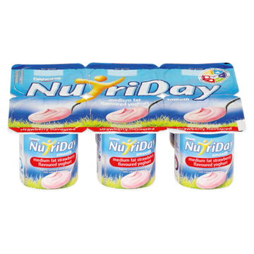 Picture of Nutriday Strawberry Multipack Yoghurt 6x100g