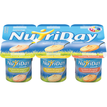 Picture of Nutriday Multipack Mango Smooth Yoghurt 6 x 100g