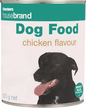 Picture of Checkers Housebrand Dog Food Chicken 820g