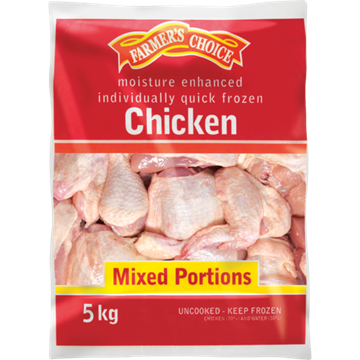 Picture of Farmers Choice Frozen Chicken IQF Braaipak 5kg