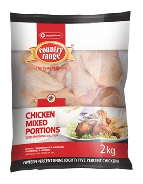 Picture of Country Range Frozen Chicken Mixed Portions 2kg