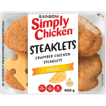 Picture of Rainbow Simply Chicken Crumbed Cheese Steaklets