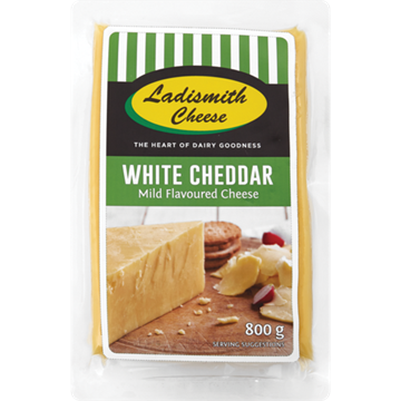 Picture of Ladismith White Cheddar Cheese Pack 800g