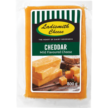 Picture of Ladismith Cheddar Cheese Pack 800g