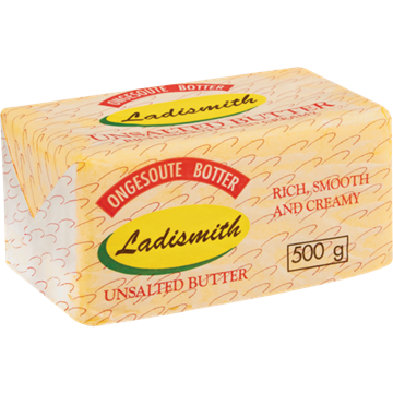 Picture of Ladismith Unsalted Butter Brick 500g