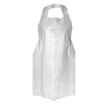 Picture of Disposable Clear Apron 100s