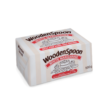 Picture of Wooden Spoon White Bake Margarine 30 x 500g
